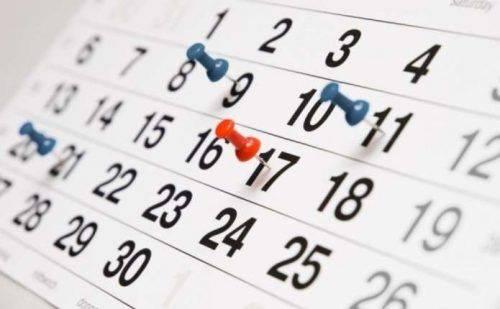 Скільки затяжних вихідних матимуть черкащани у квітні