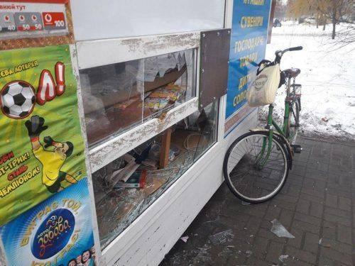 У Черкасах пограбували газетний кіоск
