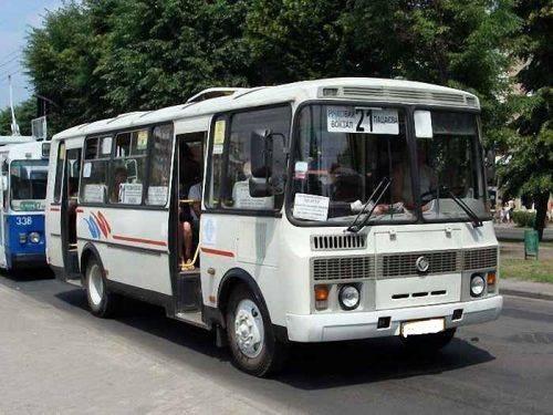 На одному з черкаських маршрутів курсують російські автобуси