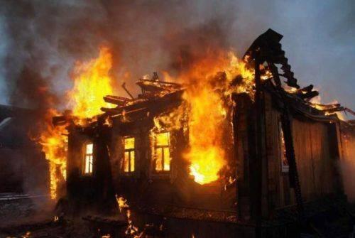 На Черкащині через власну необережність під час пожежі загинув чоловік (відео)