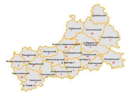 На Черкащині побільшало хворих на кір