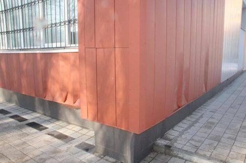 У Черкасах вандали пошкодили фасад гімназії