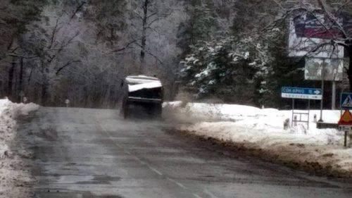 Дороги Черкащини прибирає від снігу майже сотня спецтехніки (фото)