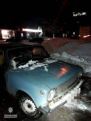 У Черкасах затримали групу можливих злочинців, які напали на містянина та викрали його авто (фото)