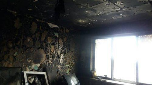 У Черкасах врятували господаря квартири, яку охопило полум'ям (фото)