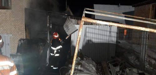 Житловий будинок ледь не згорів на Черкащині (відео)