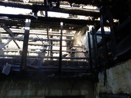 У Черкасах загорівся будинок через неправильне користування пічним опаленням (фото)