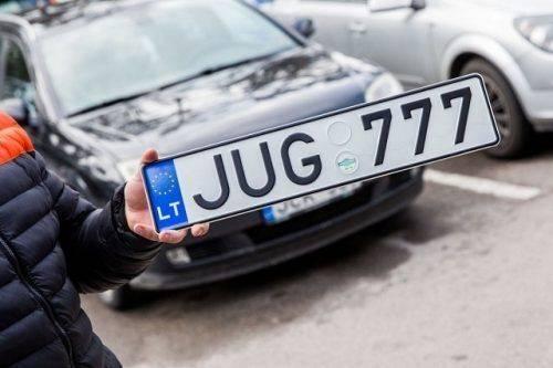 Черкащани цього року розмитнили понад 900 авто на єврономерах