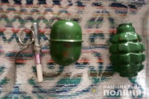 Черкащанин удома зберігав зброю та наркотики