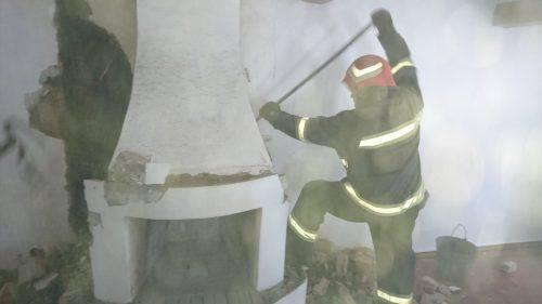 Топили піч: на Черкащині сталася пожежа в житловому будинку (фото)