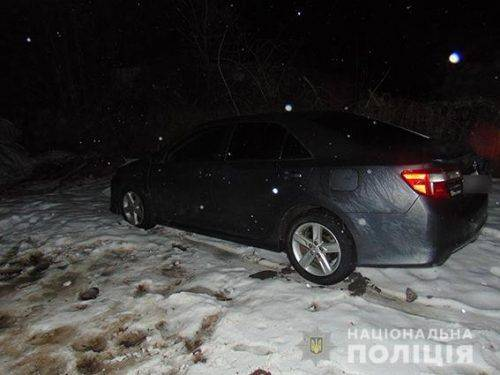 У Черкащанина викрали автівку з СТО (фото)