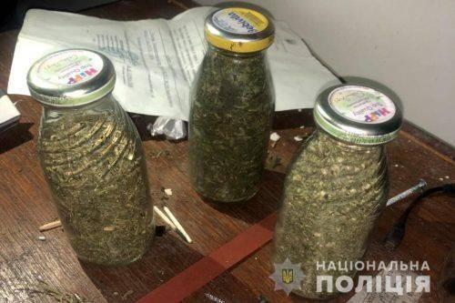 Черкащанин зберігав удома близько трьох кілограмів коноплі (фото)