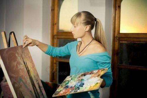Відома українська художниця з Умані провела виставку своїх робіт у столиці Іспанії