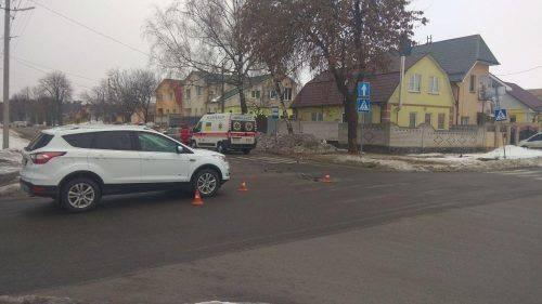 У Черкасах трапилася ДТП із травмованим (фото)
