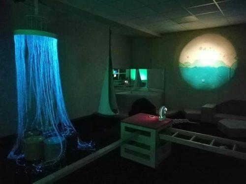 У ліцеї на Черкащині відкрили темну сенсорну кімнату (фото)
