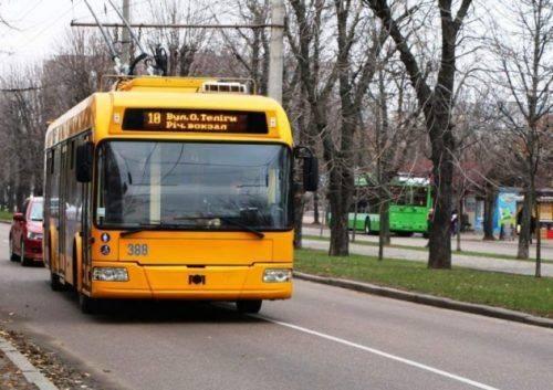 Черкаські тролейбуси завтра поновлять свій рух