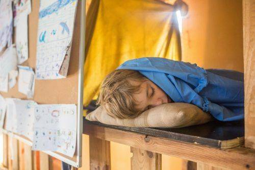 На Черкащині учні ночували в школі