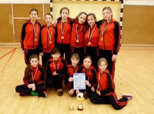 Команда з Черкащини виграла всеукраїнські змагання з футзалу серед дівчат