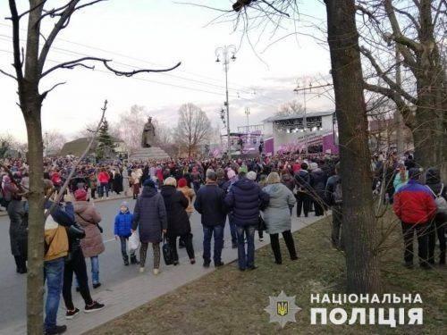 У сутичках між поліцією та активістами в Черкасах постраждало 22 особи