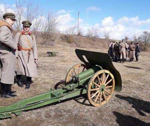 На Черкащині реконструювали бій 100-річної давнини (фото)