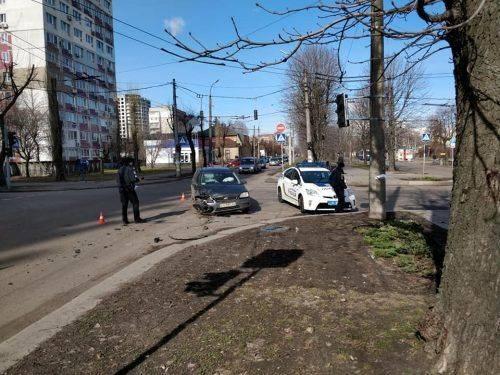 У Черкасах сталася аварія (фото)