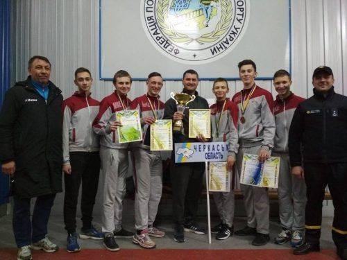 Черкаські пожежники отримали нагороди у всеукраїнському чемпіонаті