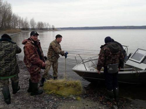 У Сулинському заказнику браконьєри наловили риби на понад 18 тисяч гривень (фото, відео)
