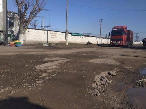 «Ямковий» полон на Бидгощській. Черкащани збирають підписи через жахливу дорогу