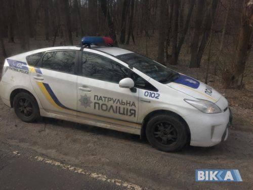 Біля Черкас машина злетіла в кювет (фото)