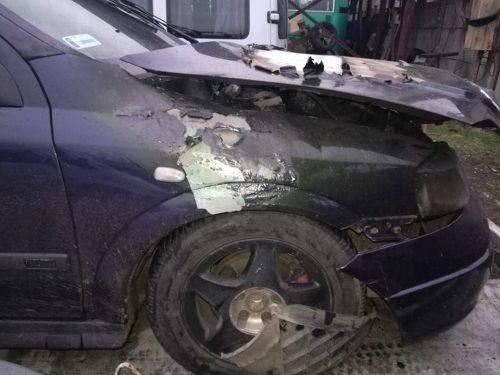 У Черкасах знову горів автомобіль (фото)