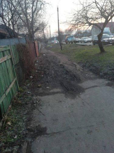 Черкасці просять відремонтувати тротуари міста