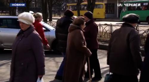 У Черкасах перекривали дорогу через відсутність газу в квартирах (відео)