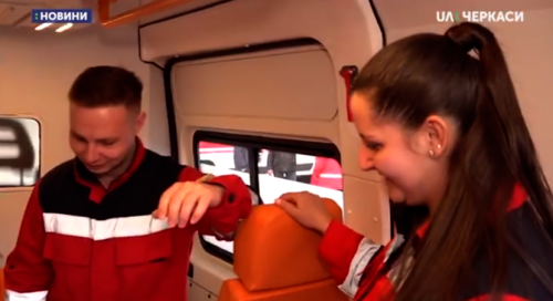 Черкаська команда перемогла у конкурсі медичного ралі (відео)
