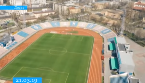 """У Черкасах на Центральному стадіоні """"розконсервували"""" футбольний газон"""