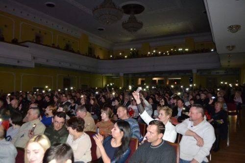 На запрошення Євгена Курбета Руслана «запалювала» черкащанок з нагоди 8 березня
