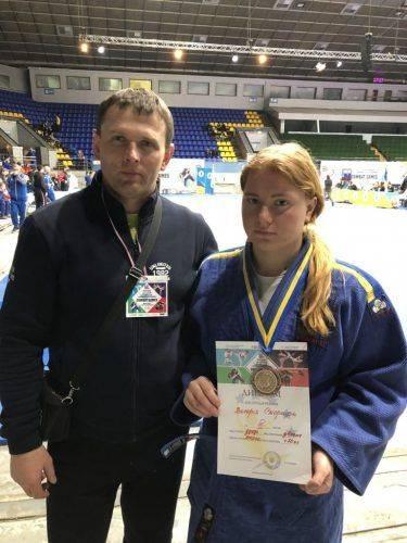 Черкащанка перемогла на Всеукраїнських єдиноборствах із дзюдо