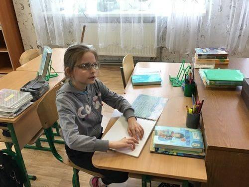 Для вихованців черкаської школи-інтернату із вадами зору мрія читати самостійно стала здійсненною