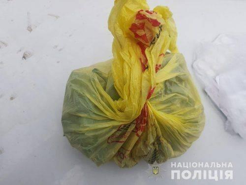 Житель Кривого Рогу закладав наркотики в парку на Черкащині