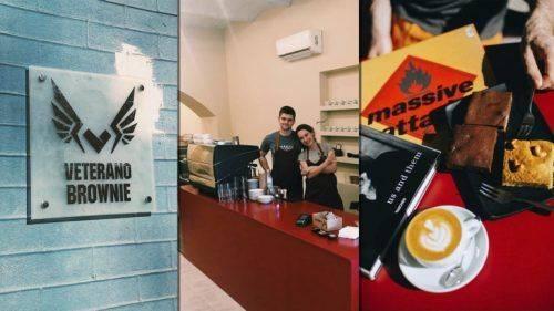 Колишній розвідник із Черкащини відкрив першу в Україні кав'ярню із шоколадними тістечками