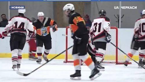 У Черкасах вперше відбувся хокейний турнір (відео)