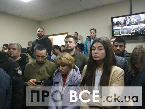 Суд обрав міру запобіжного заходу затриманим представникам Нацкорпусу