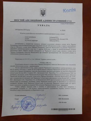 П'ятеро черкаських депутатів знову зможуть голосувати