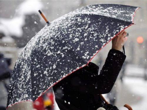 Дощ з мокрим снігом: у гідрометцентрі розповіли про погоду на тиждень