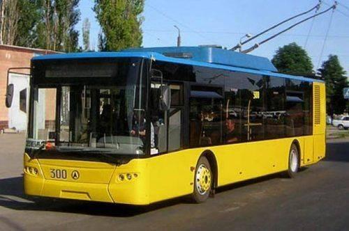 Черкасами курсуватиме новий тролейбус