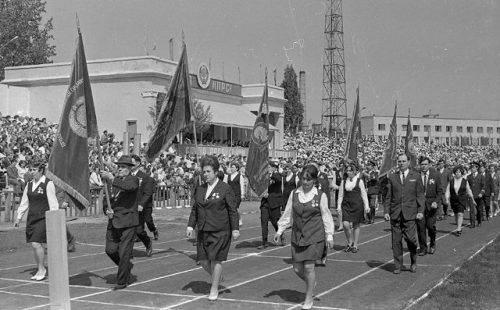 Як змінювалися черкаські арени