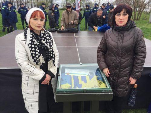 До обласного краєзнавчого музею передали бойовий прапор