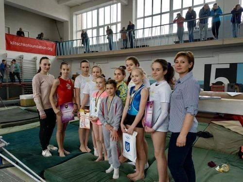 У Черкасах відбувся чемпіонат області з гімнастики спортивної (фото)