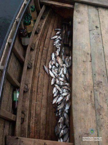 На Черкащині рибалки завдали збитків на майже 50 тис. грн (фото)