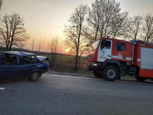 На Черкащині сталася ДТП з постраждалим (фото)