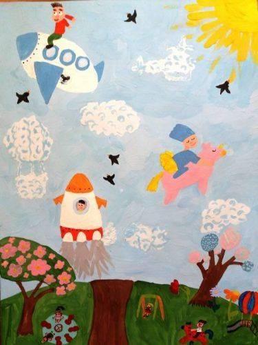 Малюнок юної черкащанки представлять на виставці у Швейцарії (фото)